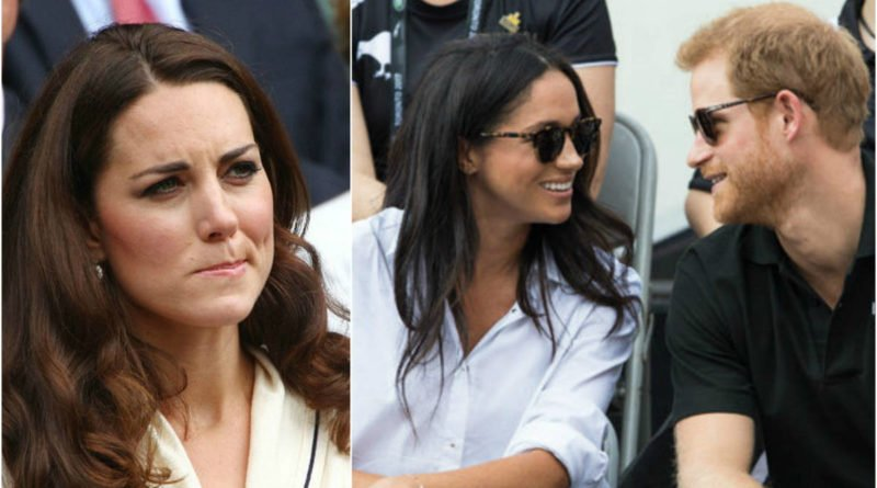 Kate Middleton Reportedly Feels Upset Over Prince Harry And Meghan Markle