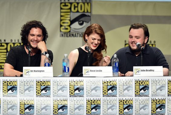 Kit Harington and Rose Leslie July 2014