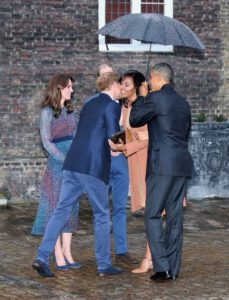 Prince Harry and Obama