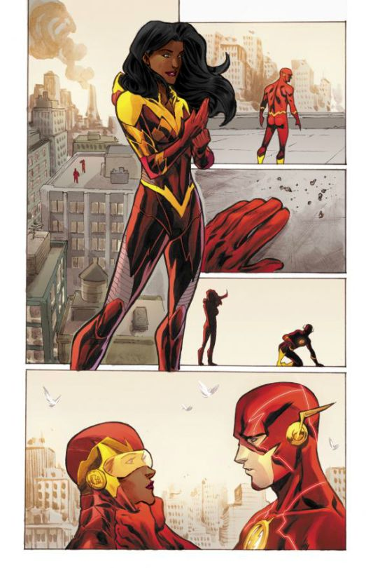 Iris West if finally getting a Super-Suit, but how will this happen