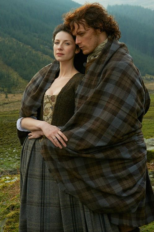 Jamie Fraser and Claire Fraser