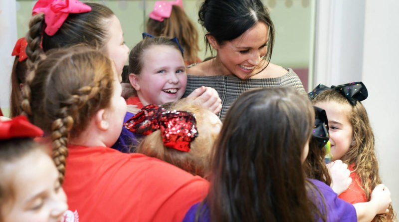 Meghan Markle Revealed A Secret About Her To A Little Girl