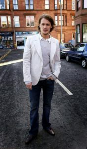 Sam Heughan is played Andy Murray in River City