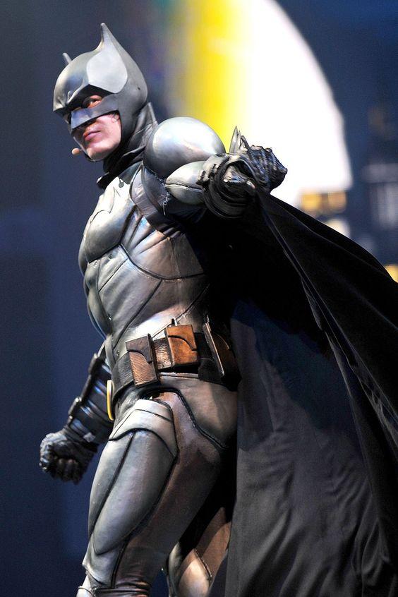 Sam Heughan was Batman