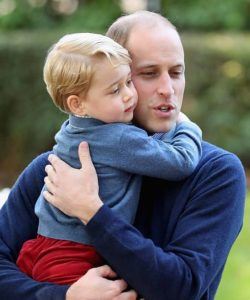 prince william and george