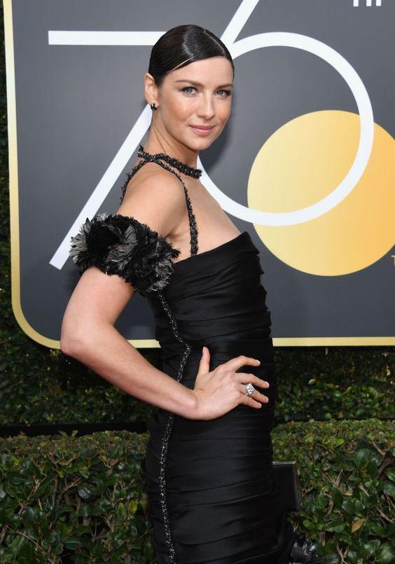 Caitriona Balfe Golden Globes
