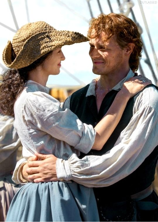 Jamie And Claire At Sea