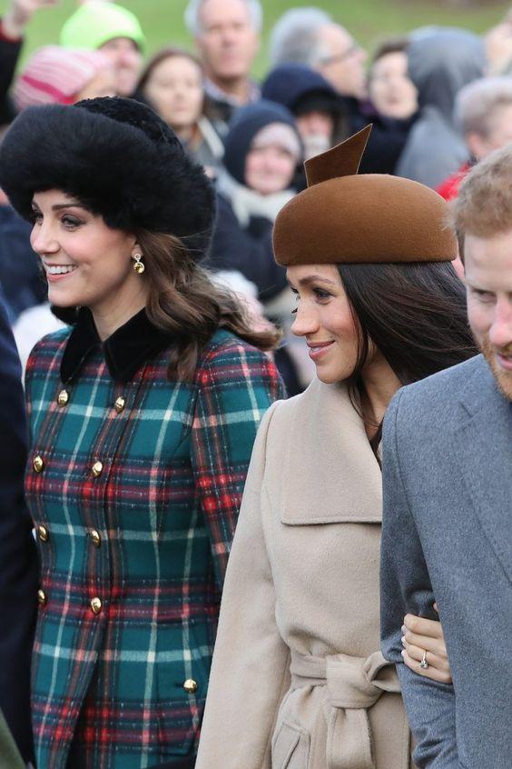 Meghan Markle and Kate Middleton