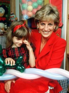 Princess Diana's charity work and causes