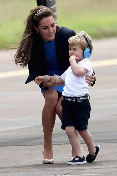 When Prince George was off on his first royal engagement in July 2016,