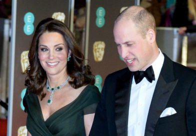 Why The Duchess Of Cambridge Didn't Wear Black At The 2018 BAFTA Awards