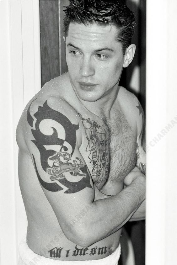 What's The Hidden Meaning Behind Tom Hardy's Tattoos?