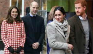 william kate harry meghan
