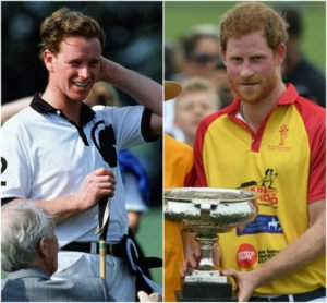 Here is Hewitt playing polo at age 33 in 1991 (the exact same age that Harry is today) and Harry playing the game last year.