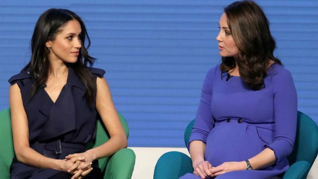 Body Language Between Kate Middleton And Meghan Markle Reveals Their relationship