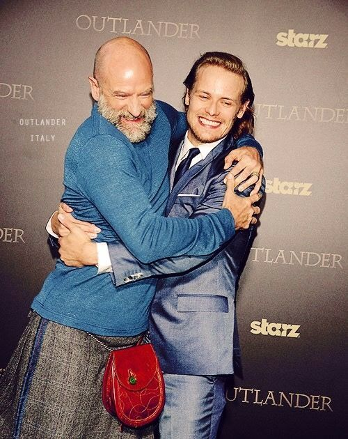 Graham Mctavish and Sam Heughan
