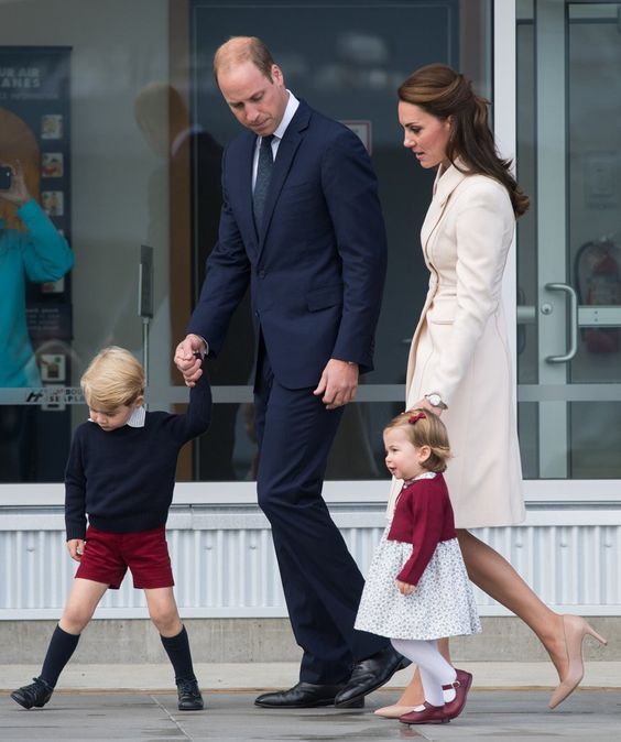 Kate Middleton, Prince William, Prince George, and Princess Charlotte