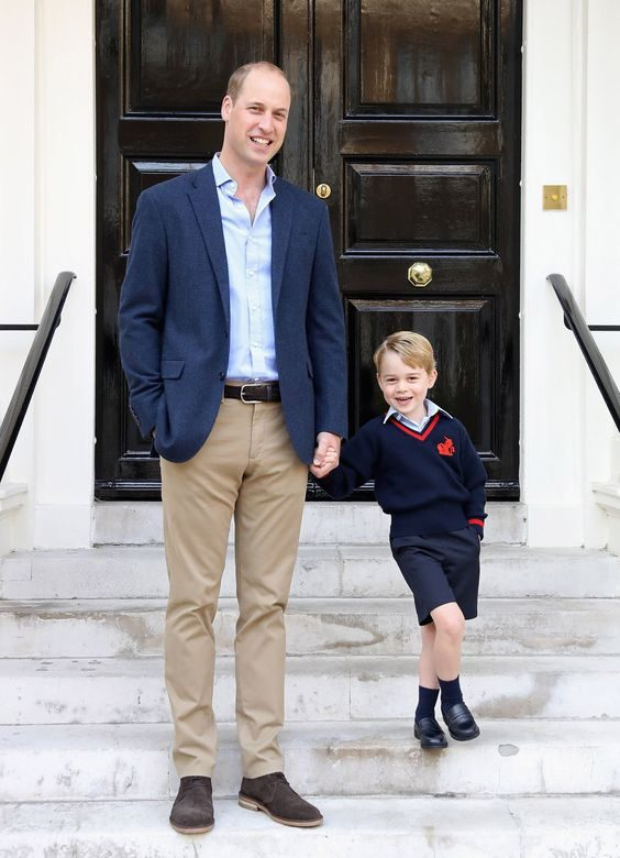 Prince George Started School Last Year