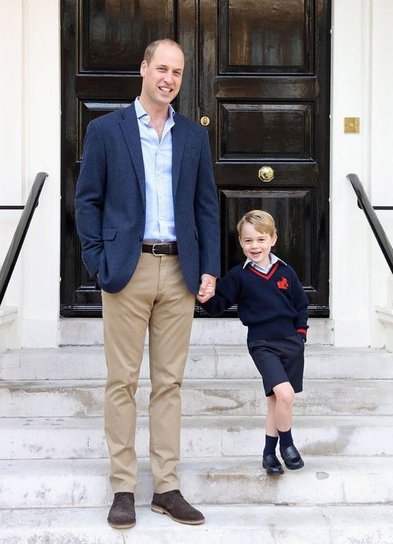 Prince George Started School Last Year