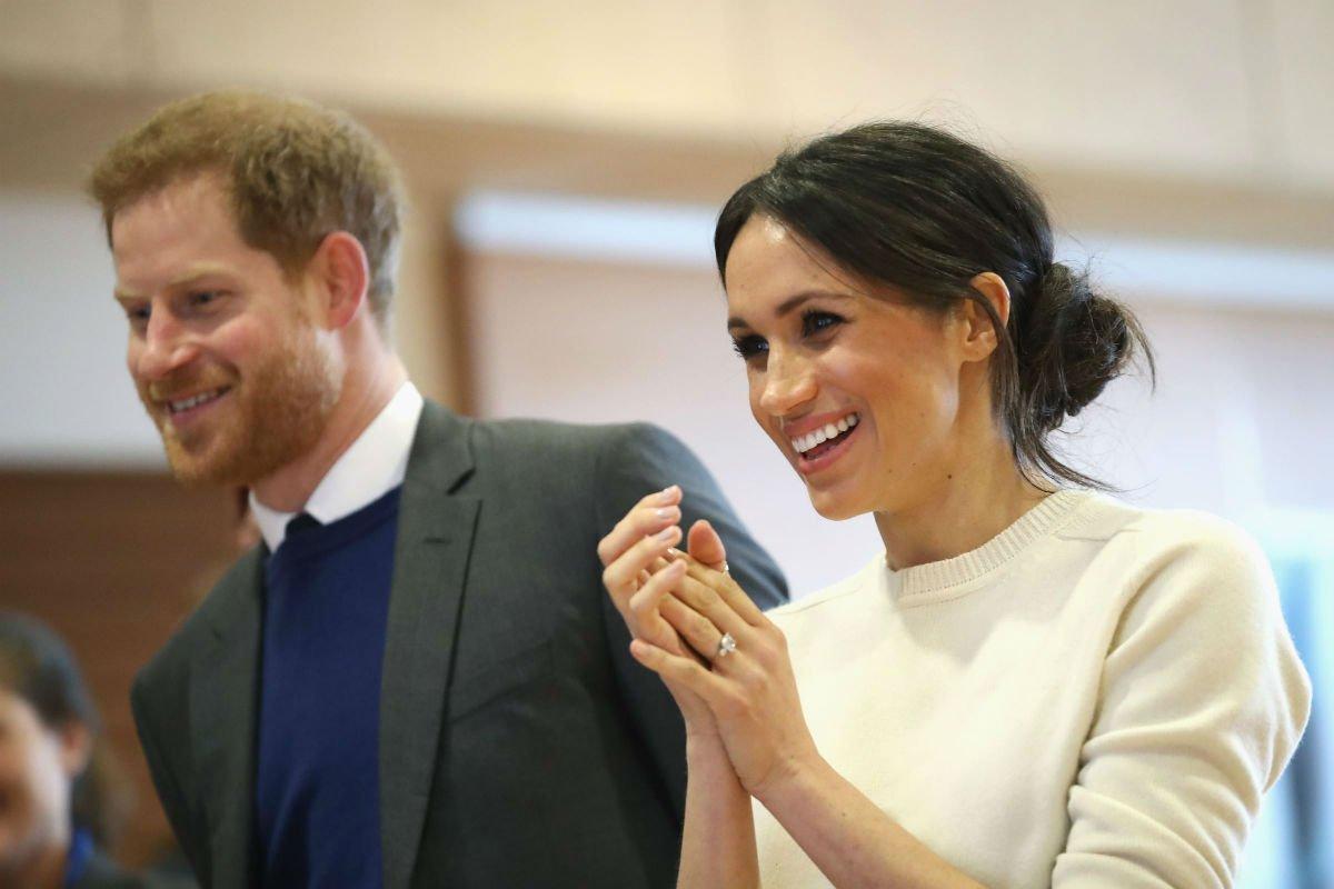 Prince-Harry-And-Meghan-Markle-2 Royal Wedding Queen Elizabeth Ii