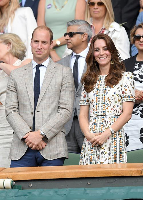 Prince William and Kate ant Wimbledon