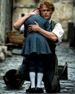 Jamie and Willie in Outlander