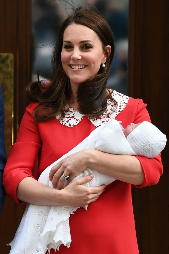 Kate Middleton welcomed their third child