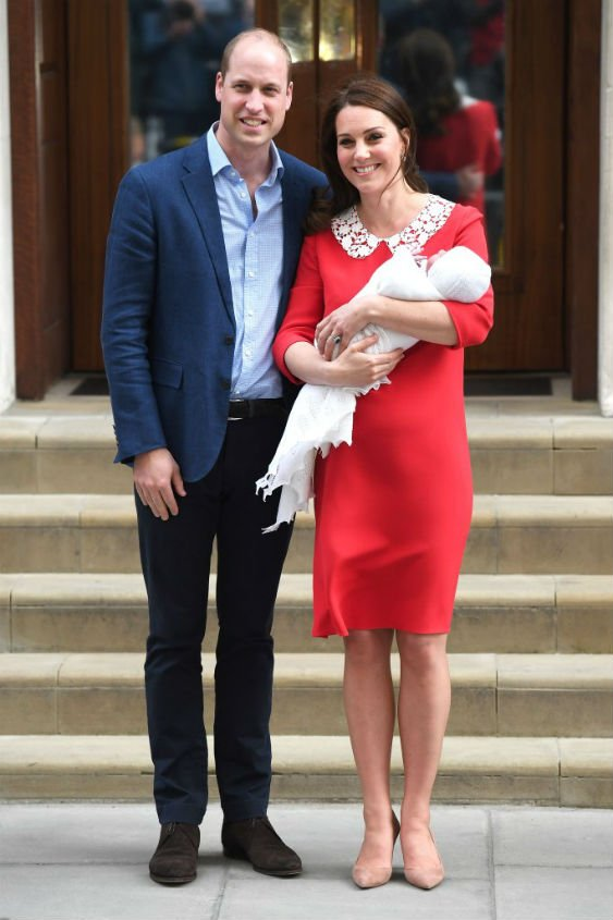 Prince William and Kate Middleton welcomed their third child
