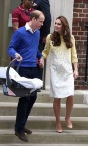 Prince William showed his appreciation for Kate as he helped her down the steps of the hospital after she gave birth to Princess Charlotte.