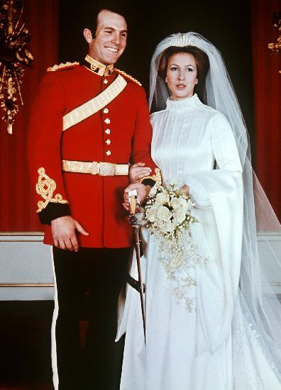 Princess Anne and Captain Mark Phillips