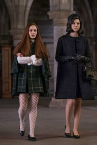 Sophie Skelton as Brianna Randall Fraser and Caitriona Balfe as Claire Randall Fraser