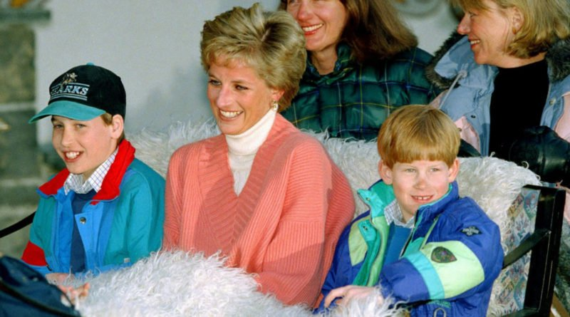 Diana Harry and William in the Caribbean 2