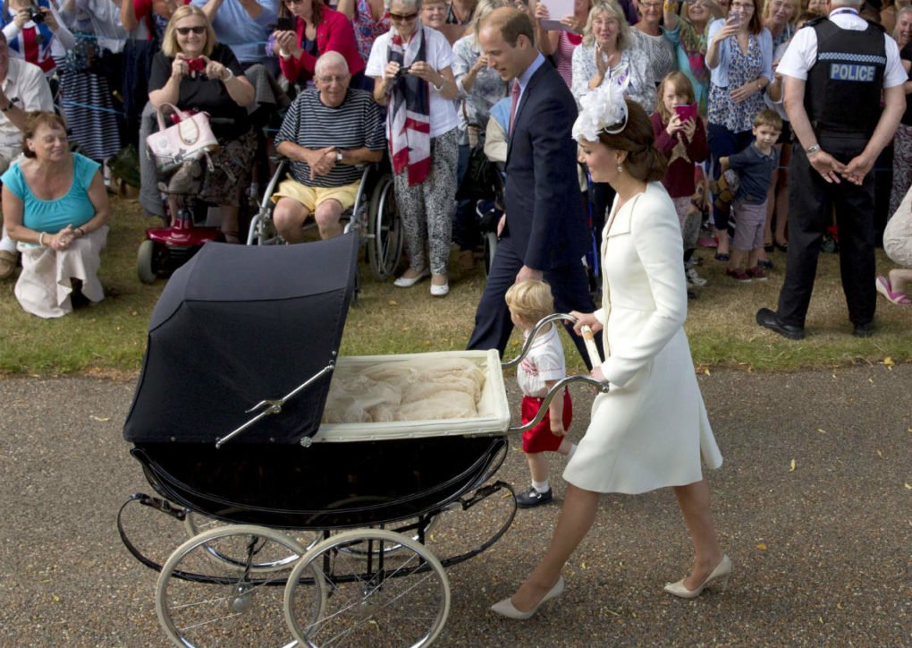 Kate Middleton's Favourite Pram Used By Prince George, Princess Charlotte And Prince Louis
