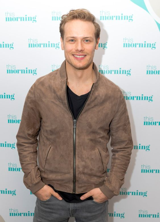 Morning today Sam Heughan