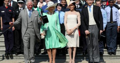 Prince Charles, Camilla, Meghan and Harry