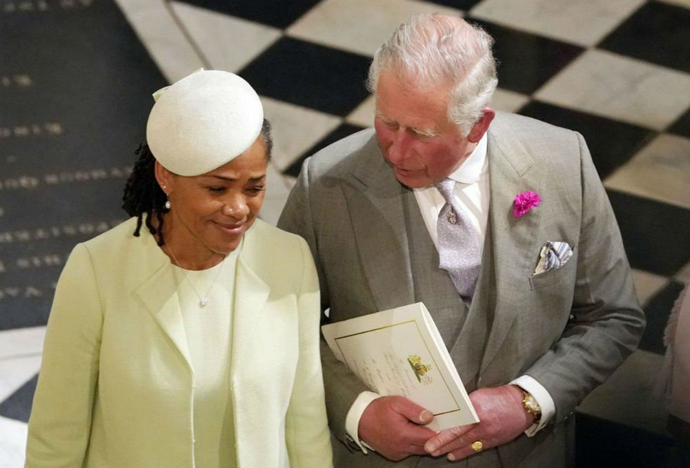 Prince Charles and Meghan's mother