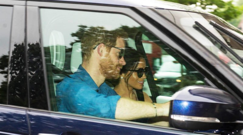 Prince Harry And Meghan Markle First Picture After Royal Wedding