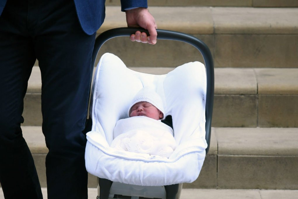 Prince Louis baby carriage