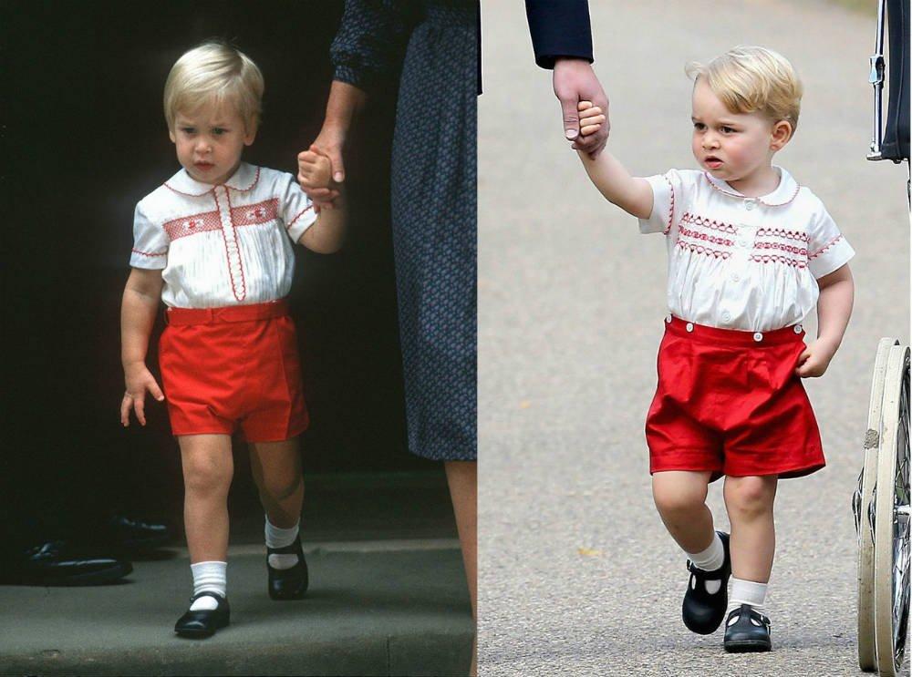 Prince William andPrinceGeorge