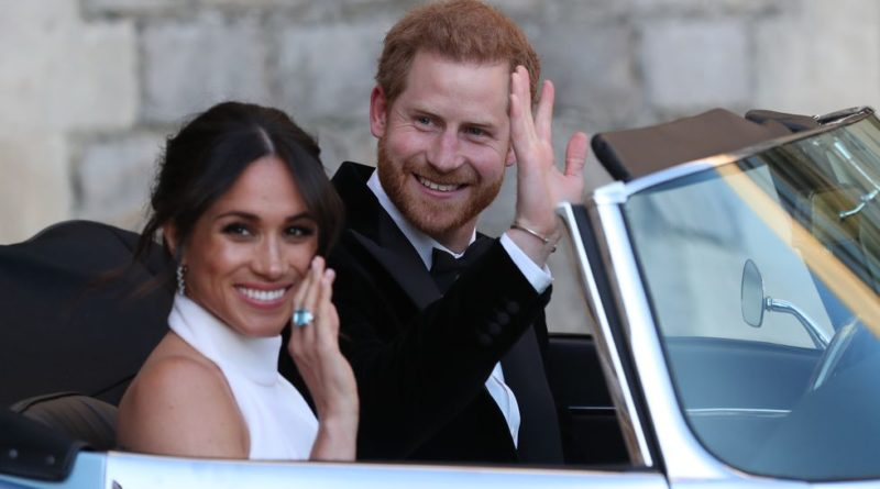 Harry And Meghan Drive To Evening Reception: All The Details