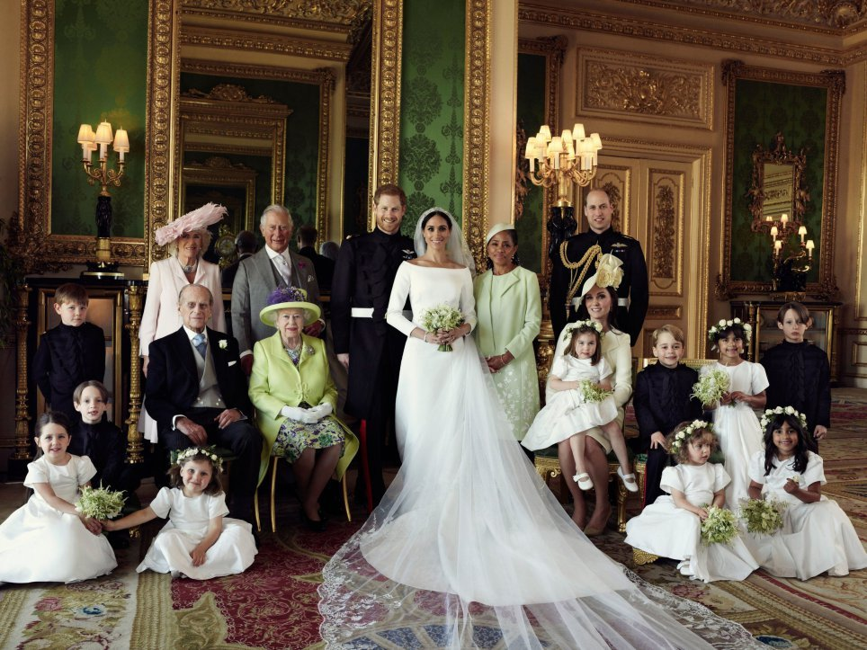 harry and meghan family
