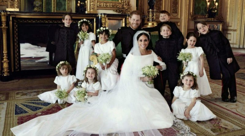 photographs of Prince Harry's wedding to Meghan Markle on Saturday