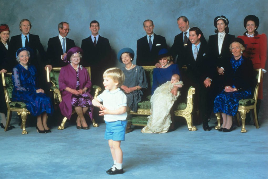prince Harry's christening 2