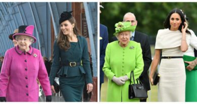 How Meghans First Outing With The Queen Compares To Kates