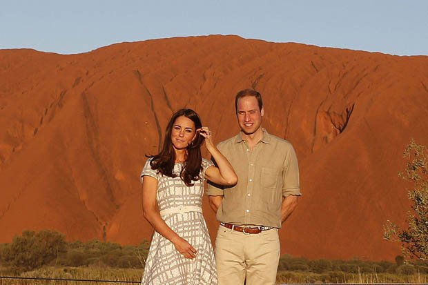 Prince William and Kate Middleton tour in Australia
