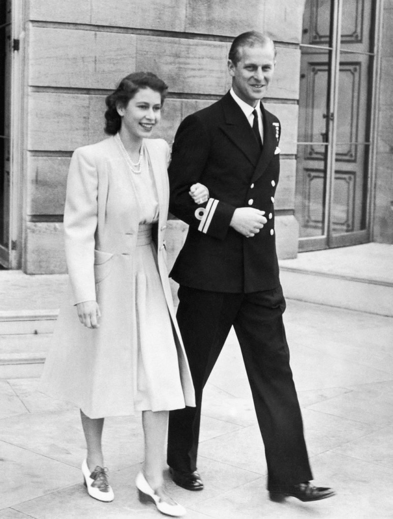 The Queen and Prince Philip announced their engagement on 9 July 1947