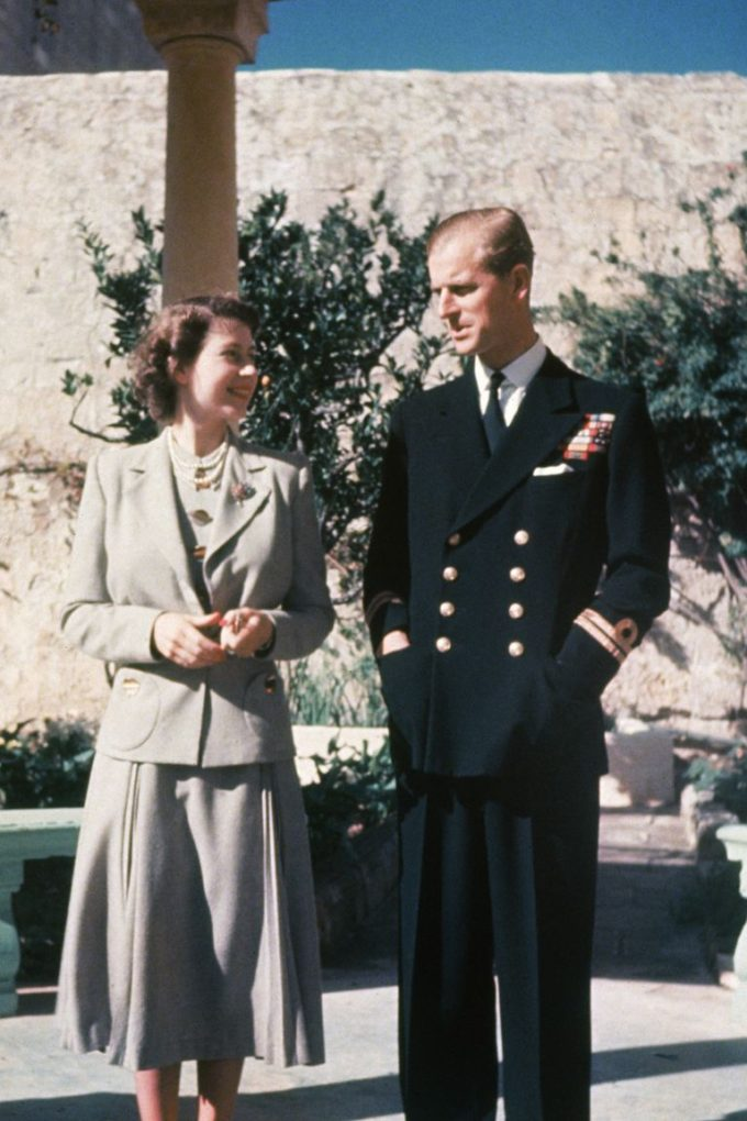 The Queen and Prince Philip lived in Malta following their wedding in 1947