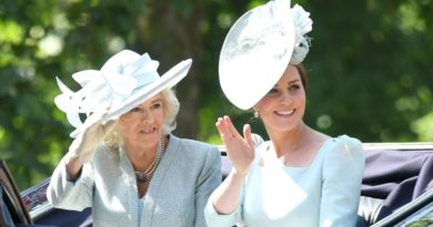 kate and camilla trooping the colour