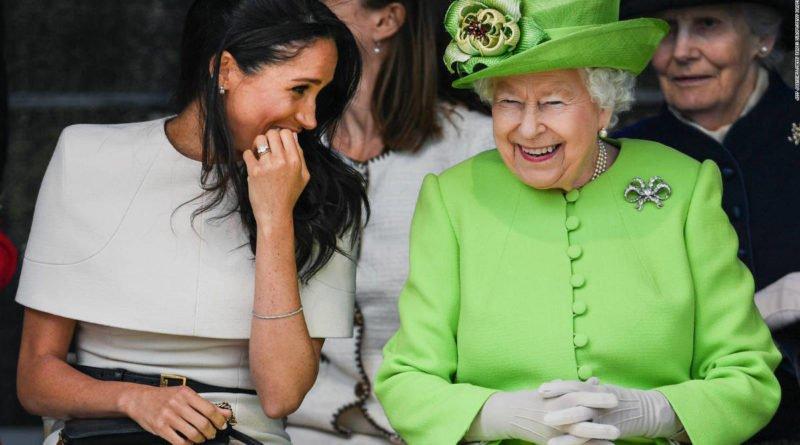 meghan markle and queen elizabeth 2