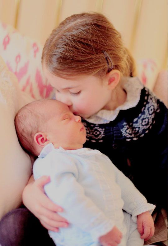 Princes Charlotte and Prince Louis